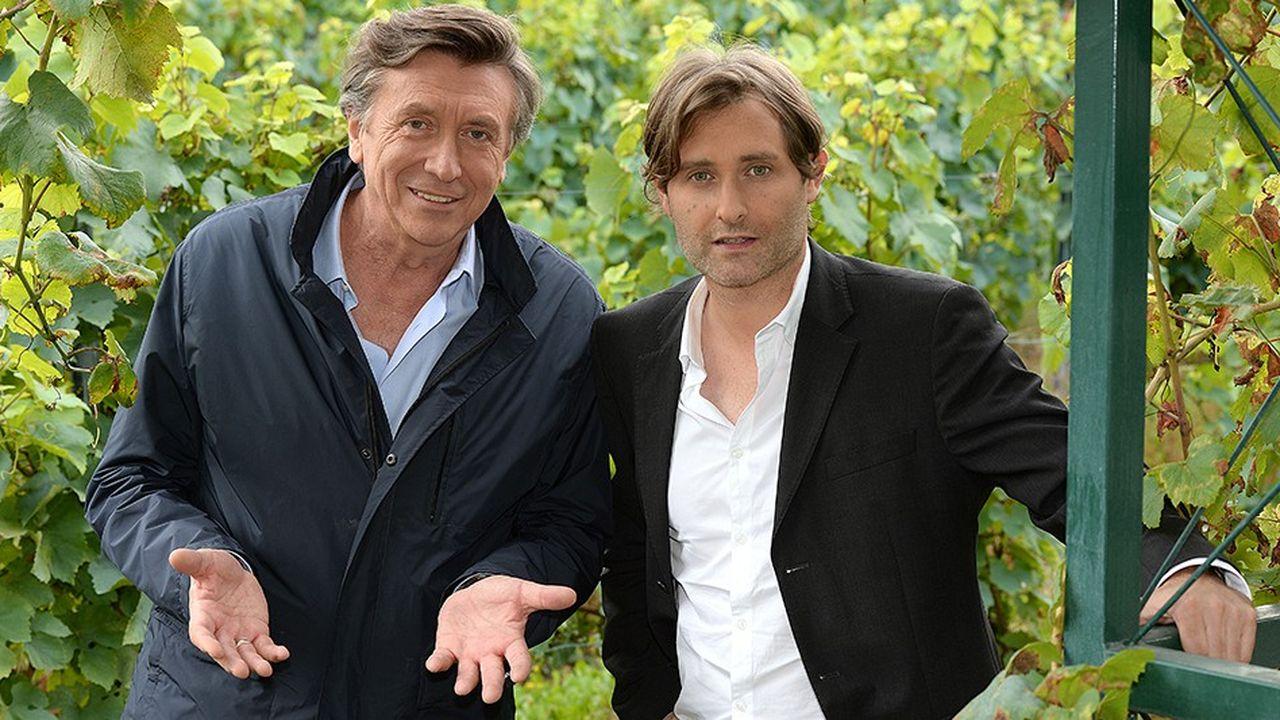 Jacques Legros et Julien Guinand, directeurs généraux de Vigne & Vin SAS.
