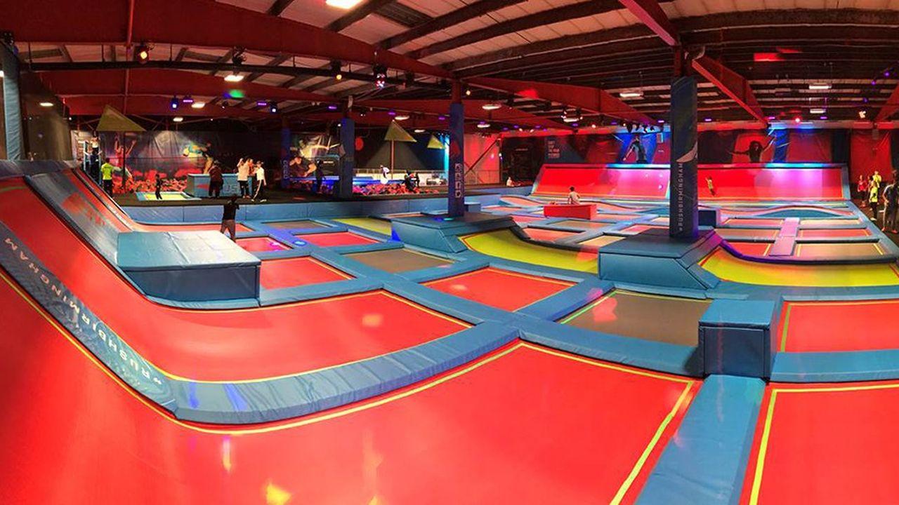« trampoline park » de Fun Spot.