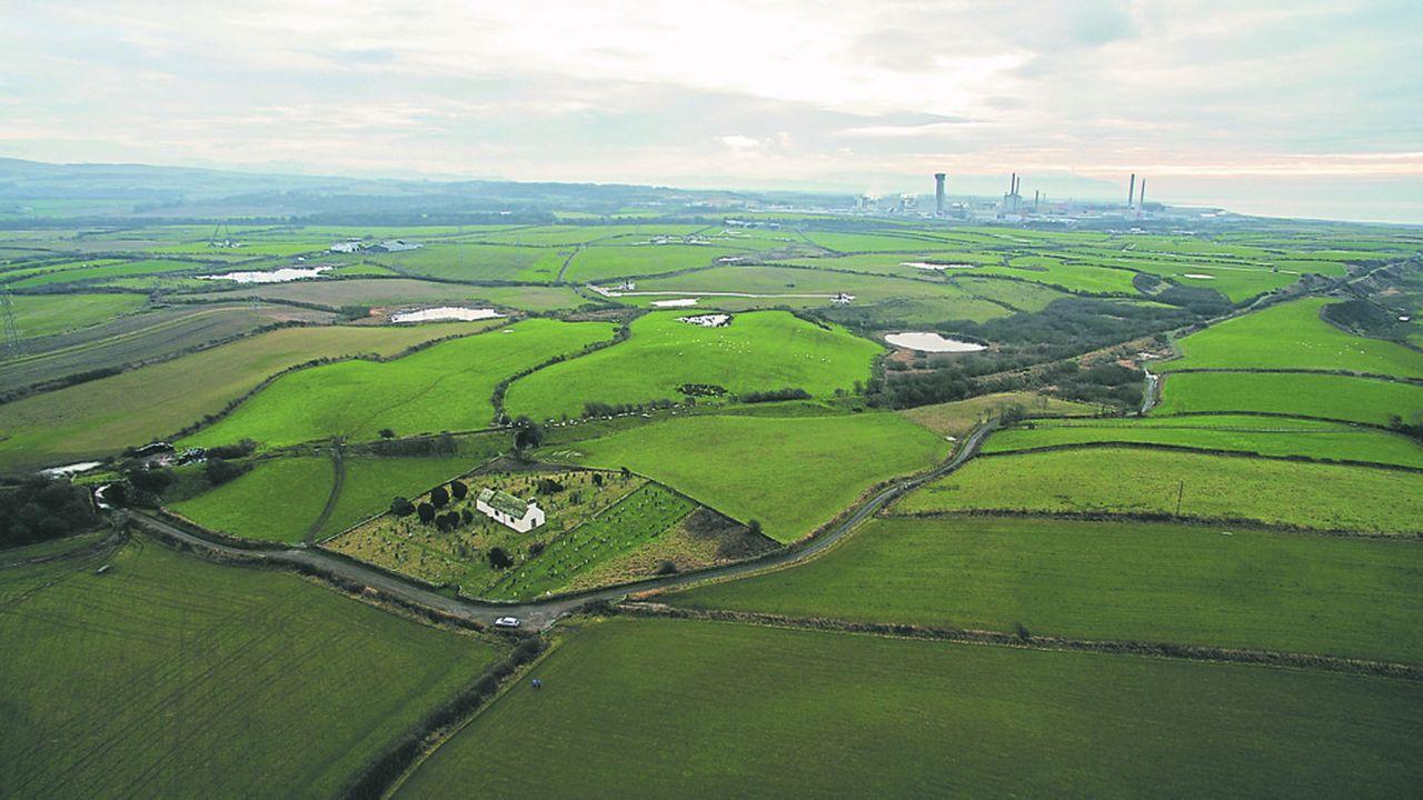 Le site de Sellafield, dans la région de West Cumbria située au nord-ouest de l'Angleterre, abrite une usine de retraitement du combustible nucléaire.