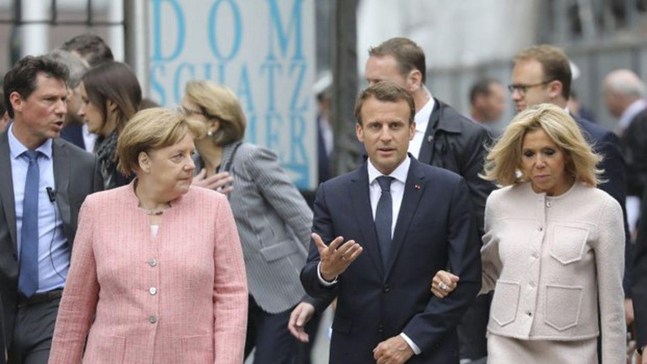 Angela Merkel et Emmanuel Macron se retrouvent ce samedi après-midi à Compiègne, où fut signé l'armistice de la guerre 14-18