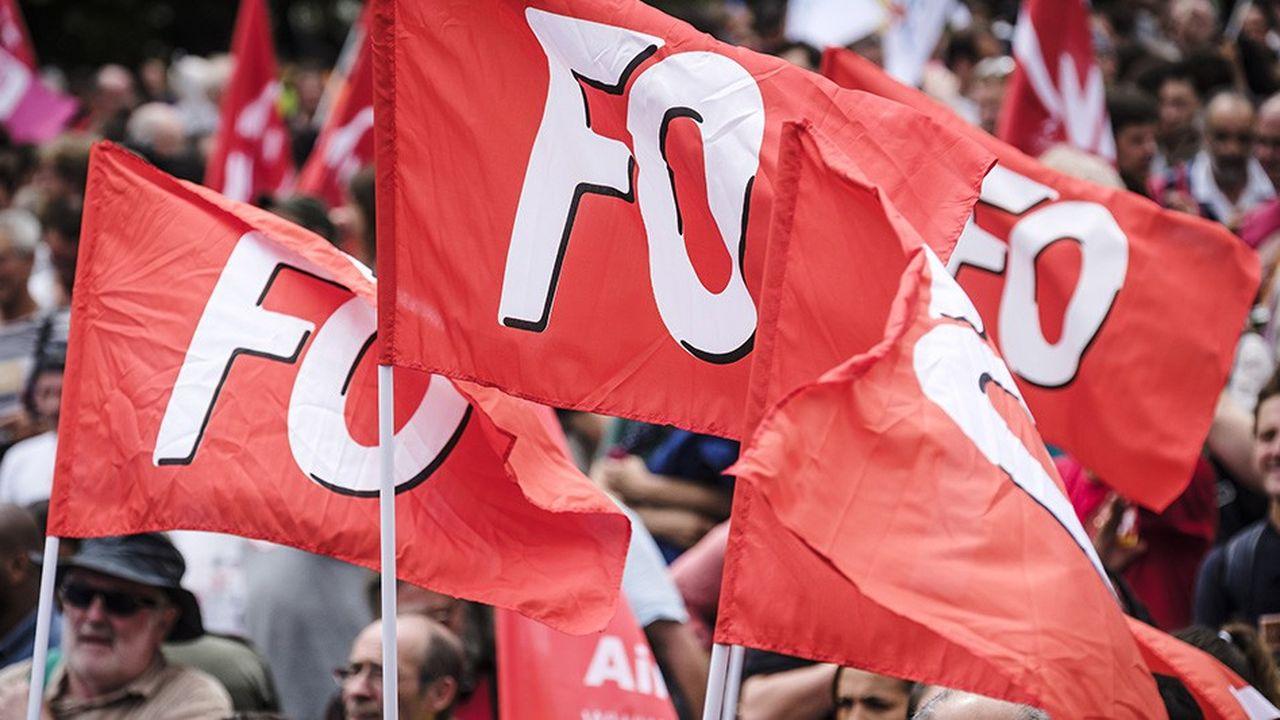 Force ouvrière est le troisième syndicat français en termes d'audience.