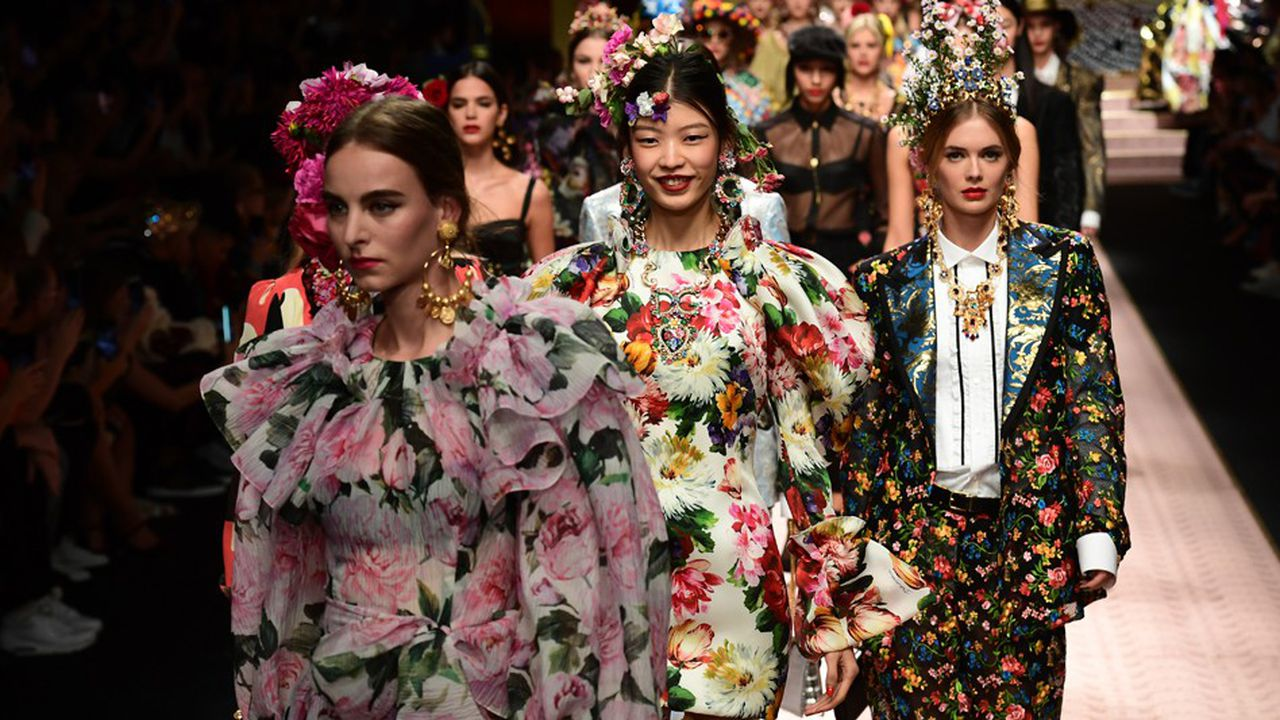 La polémique a éclaté après la publication sur le compte Instagram de la marque de deux vidéos de promotion du défilé (photo: à la Fashion Week de Milan en septembre2018)