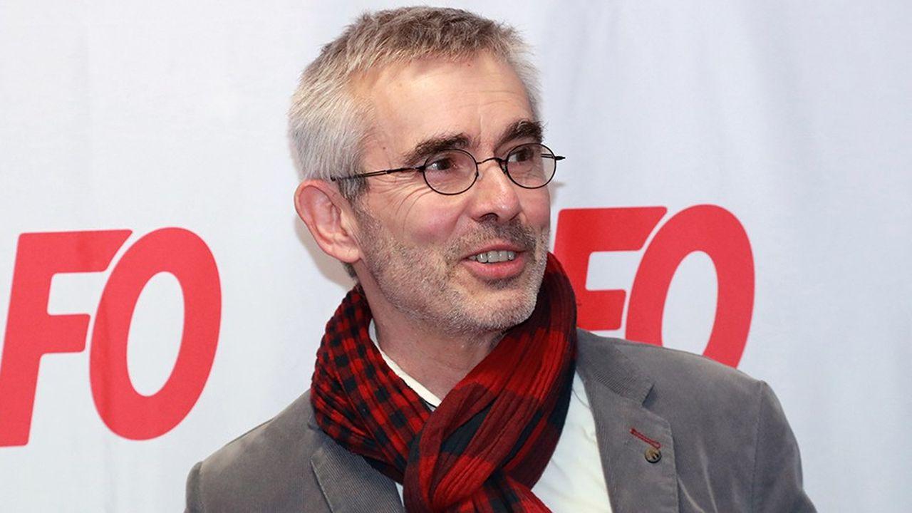 Yves Veyrier a été élu secrétaire général de Force ouvrière ce jeudi.