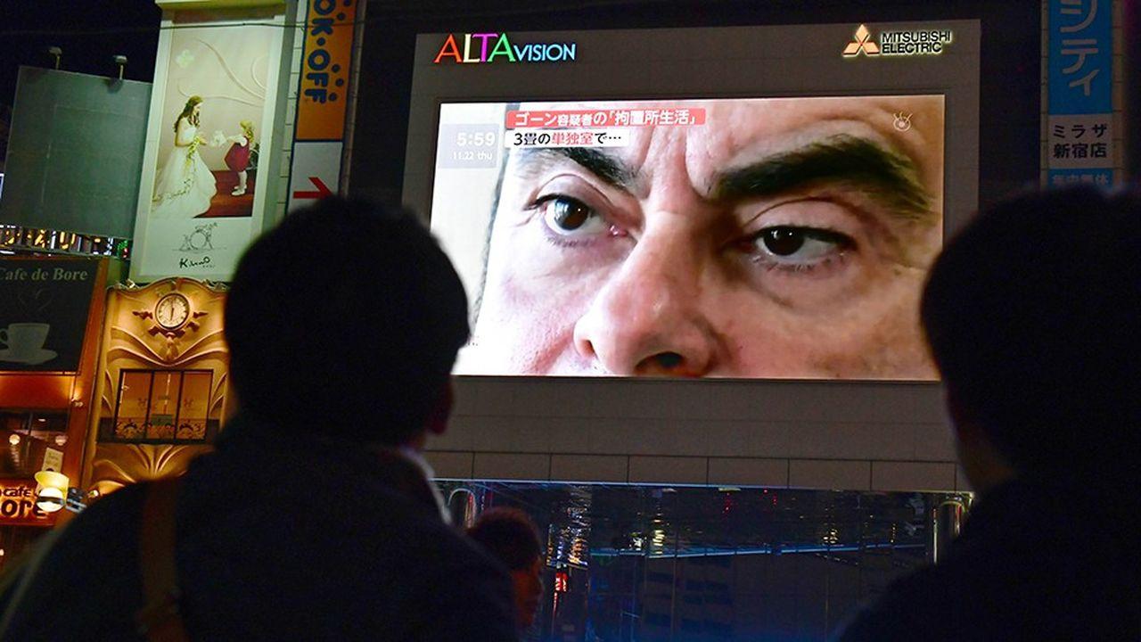 Au Japon, l'affaire Carlos Ghosn fait la Une depuis plusieurs jours.