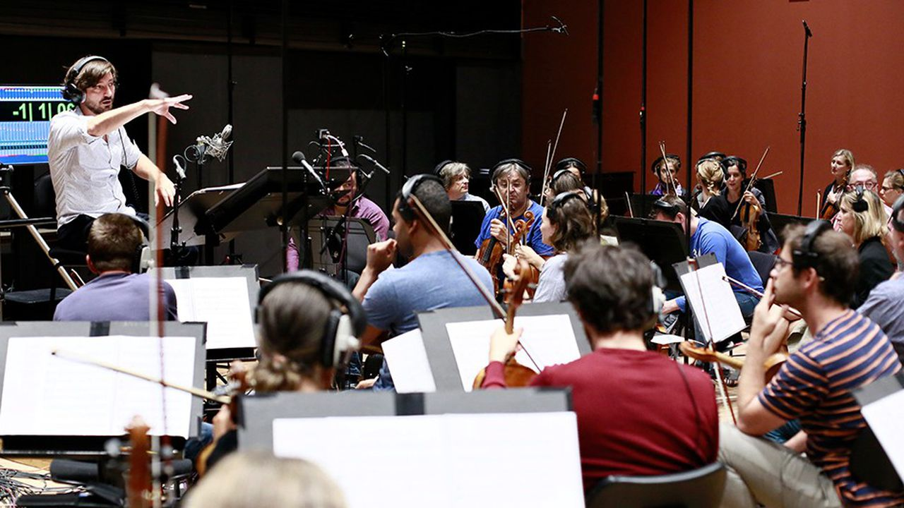 Studio de l'Orchestre National d'Ile-de-France.