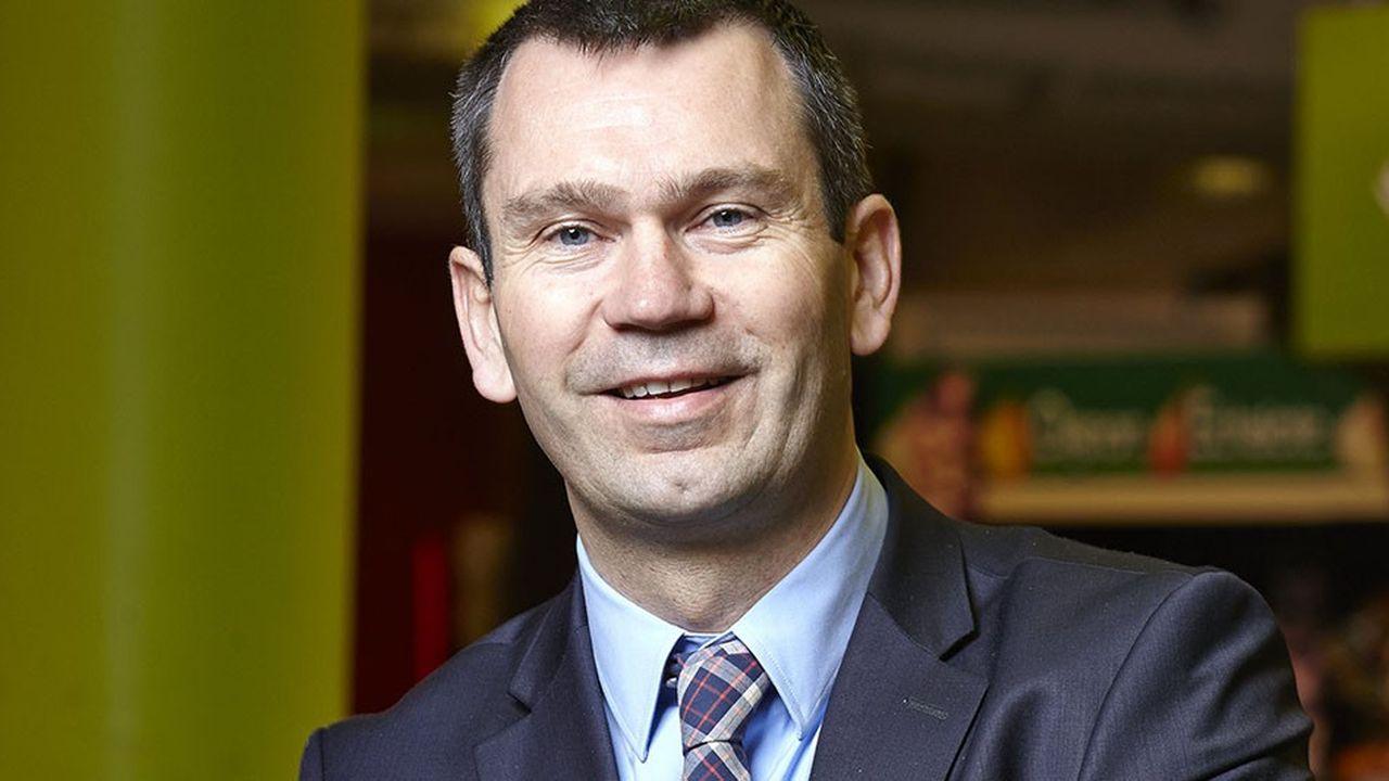 Thierry Cotillard, président d'Intermarché.