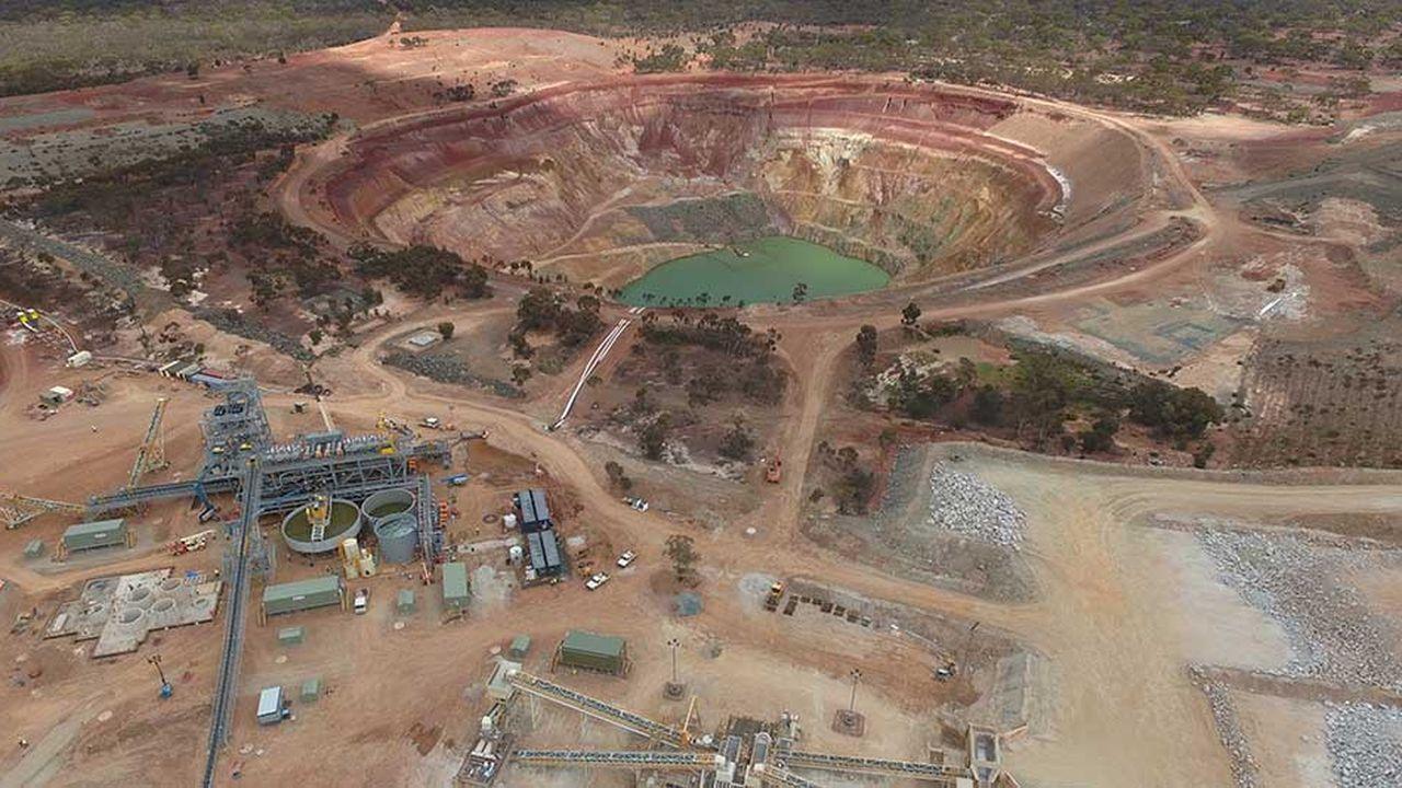 Un des sites miniers de la société Mineral Resources en Australie.