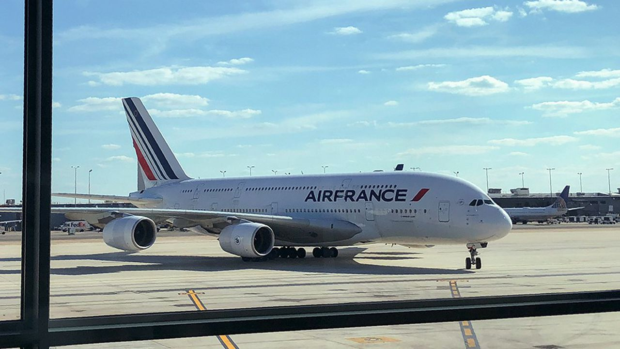 Air France va réduire sa flotte d'Airbus A380 | Les Echos