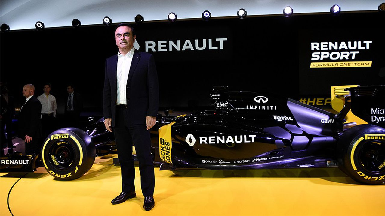 Au cours de son mandat, Carlos Ghosn a validé à plusieurs reprises le programme ambitieux de Renault en F1, qui doit lui permettre d'accroître sa visibilité sur de nouveaux marchés.