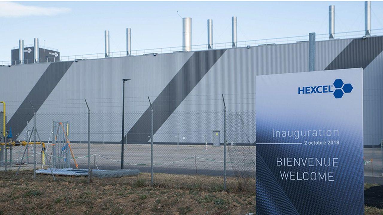 Hexcel, géant américain des matériaux composites, a inauguré sa troisième usine en Auvergne-Rhône-Alpes