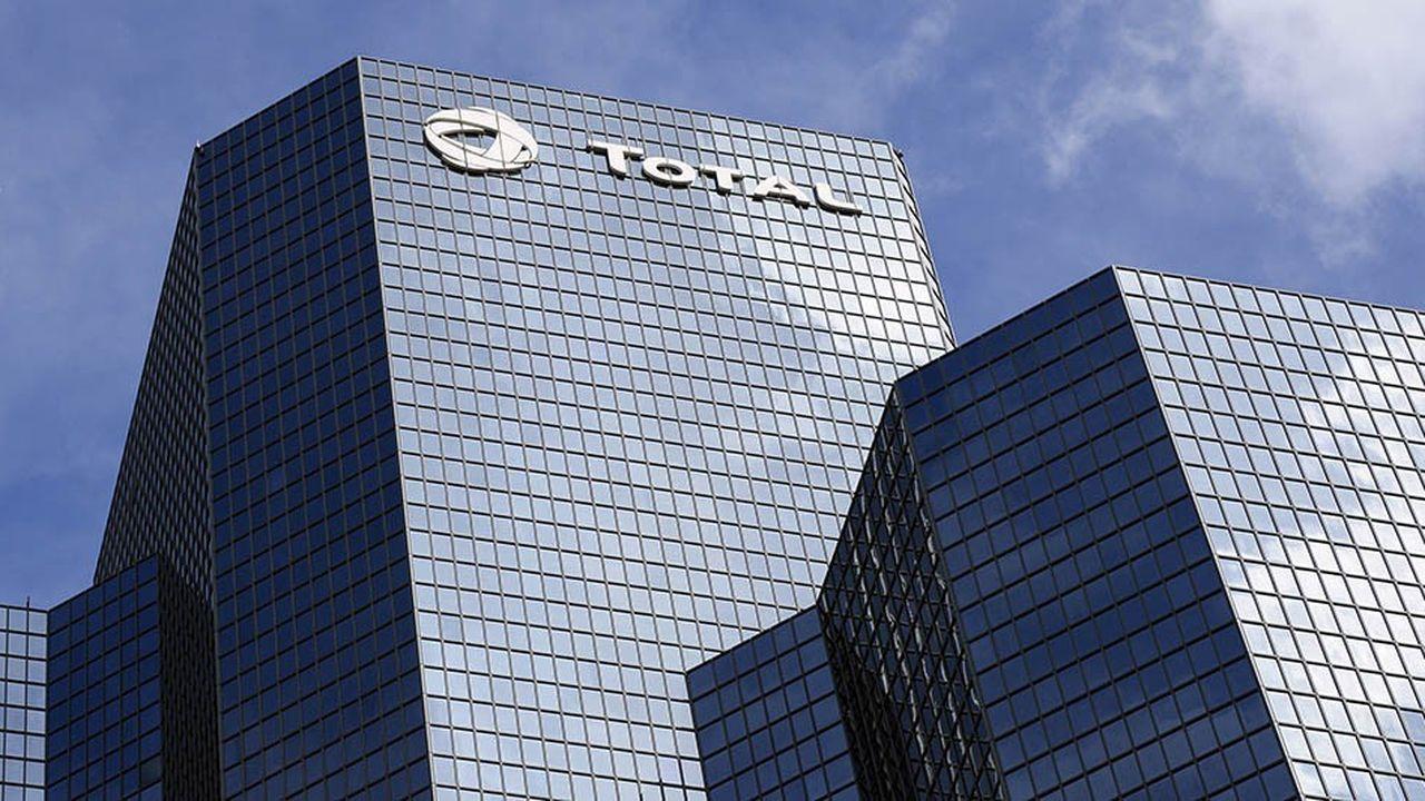 L'action Total a perdu plus de 14% depuis début octobre, conséquence de la baisse du prix du pétrole.