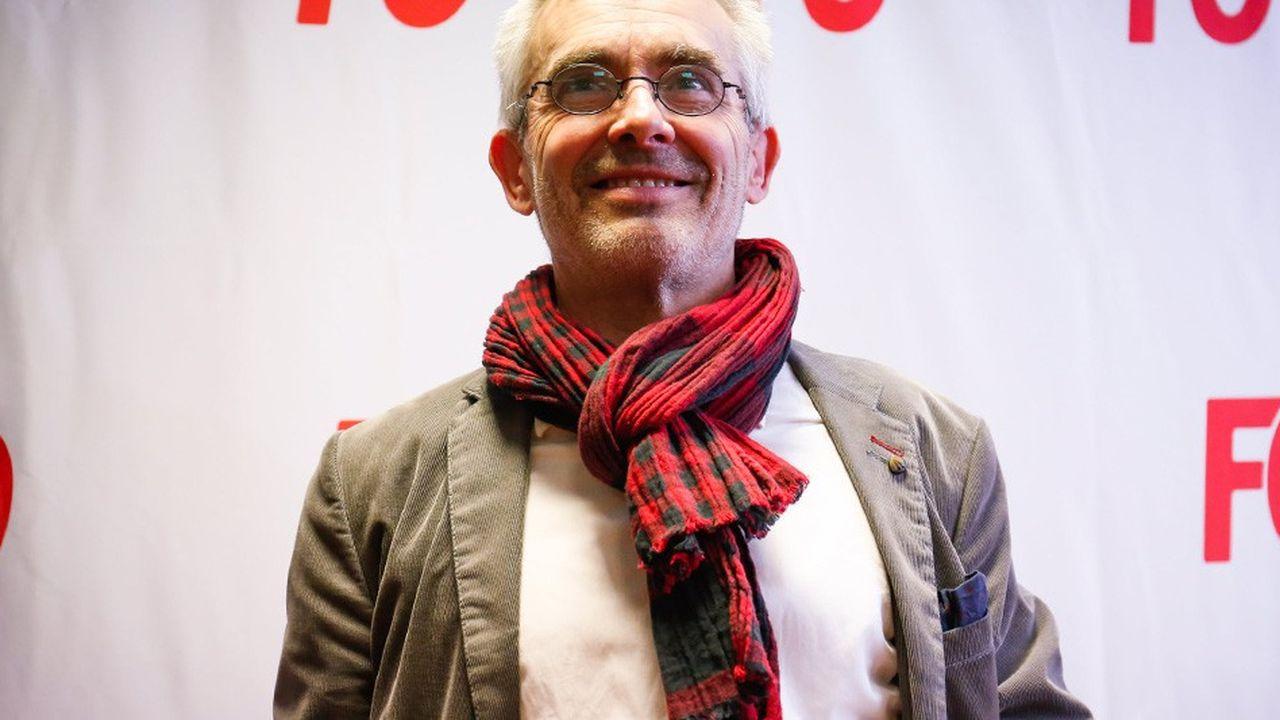 Yves Veyrier a succédé le 22novembre à Pascal Pavageau, contraint de démissionner du secrétariat général de la troisième confédération française après des révélations sur un fichier occulte mi-octobre.