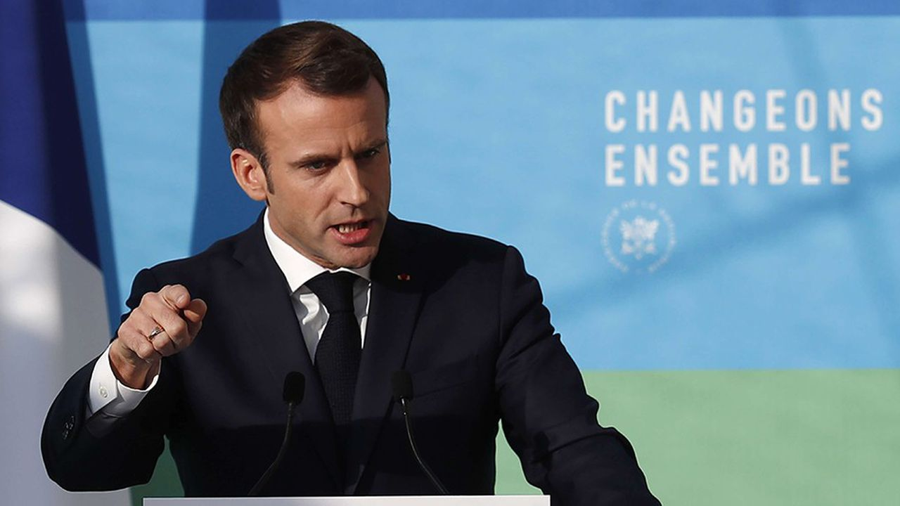 Emmanuel Macron s'est exprimé devant les membres du Conseil national de la transition écologique.