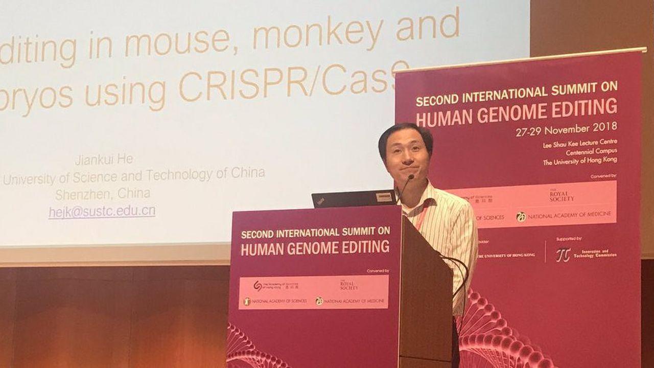 Selon He Jiankui, le résultat de ses recherches a été transmis pour validation à une revue scientifique et n'aurait pas dû être rendu public à ce stade