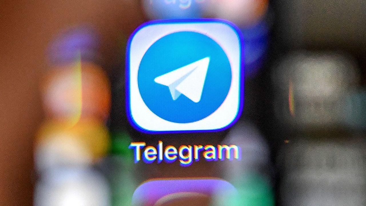 La messagerie Telegram d'où partent les arnaques à la bouilloire sur les cryptos