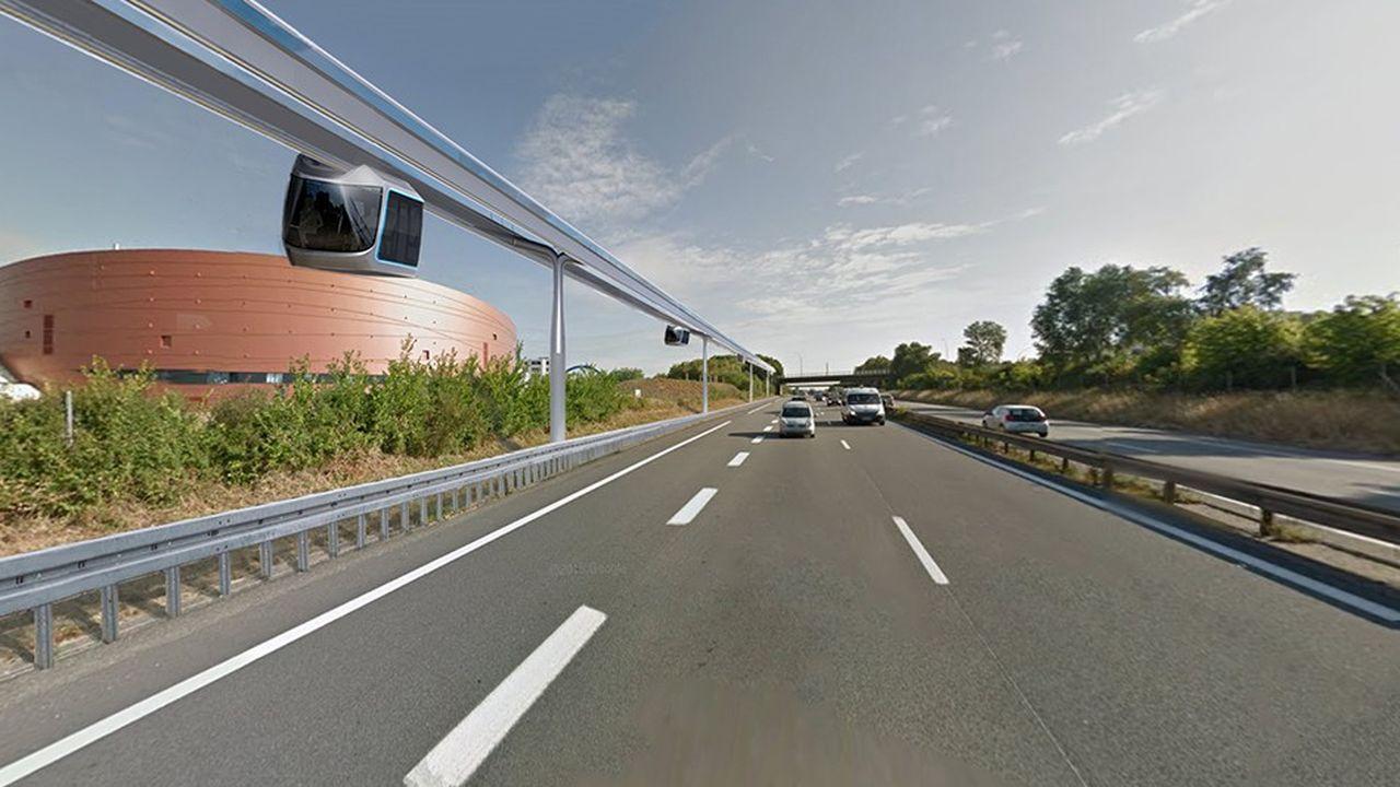 Projet de stade vélodrome de Saint-Quentin en Yvelines et de supraways.