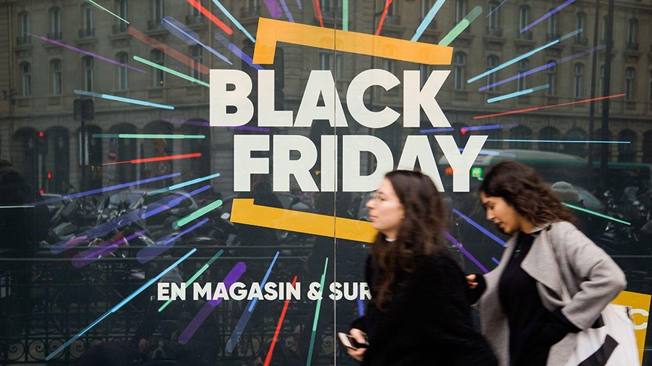 Beaucoup de commerçants ont enregistré des progressions à deux chiffres durant le Black Friday.