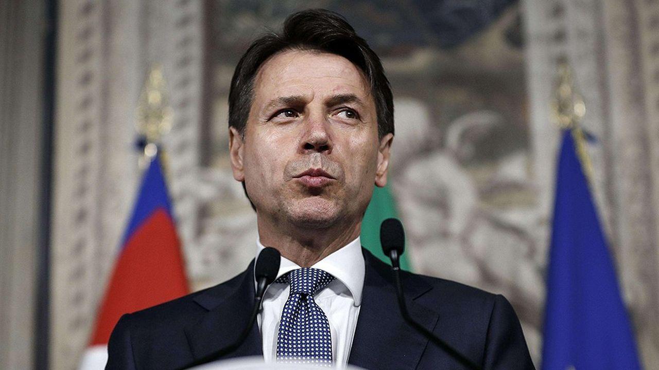 Les députés italiens viennent d'adopter, après les sénateurs, un décret-loi controversé sur la sécurité et l'immigration (photo: Giuseppe Conte, le président du Conseil)