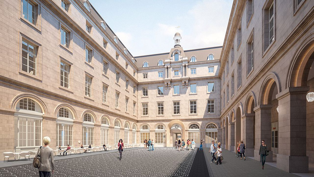 L'Hôtel de la Marine, futur site phare de l'attractivité parisienne.