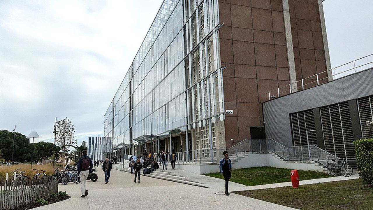 A Bordeaux, des étudiants inscrits en licence de sciences et technologies ont signé un contrat avec l'université pour effectuer leur première année en deux ans.