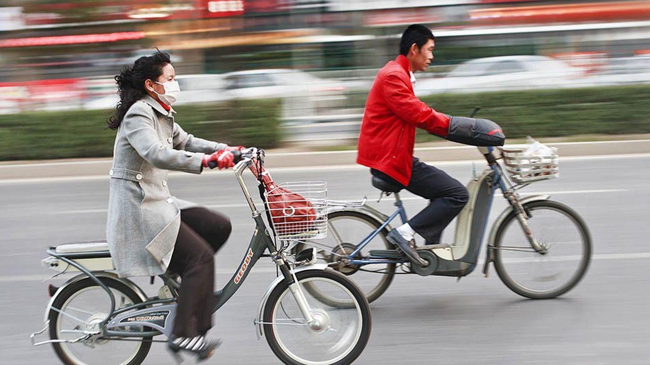 Les importations de vélos électriques chinois sont passées, en moyenne, de 100.000 par mois en début d'année, à moins de 15.000 par mois depuis le mois d'août.