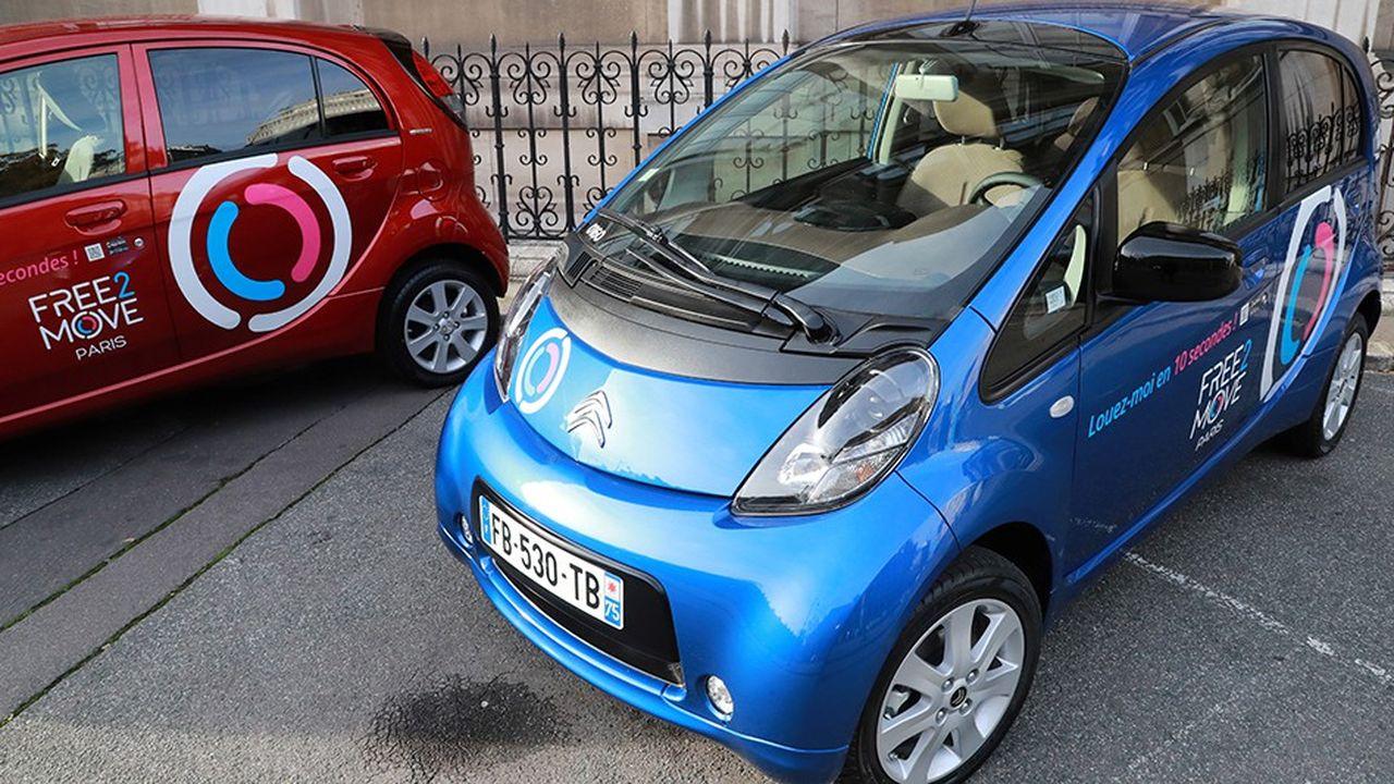 A compter de ce lundi 3 décembre, PSA mettra à disposition des Parisiens 550 voitures électriques sans bornes.