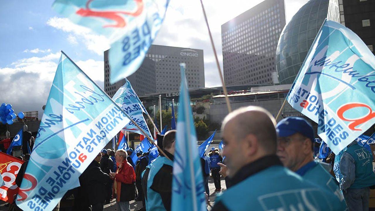 L'Unsa progresse aux élections professionnelles, et notamment à la RATP où il est désormais le premier syndicat.