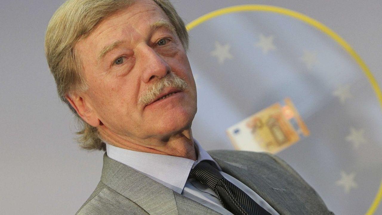 Yves Mersch, membre du directoire de BCE, doit présenter vendredi la nouvelle infrastructure de paiement instantanné européen baptisée TIPS.