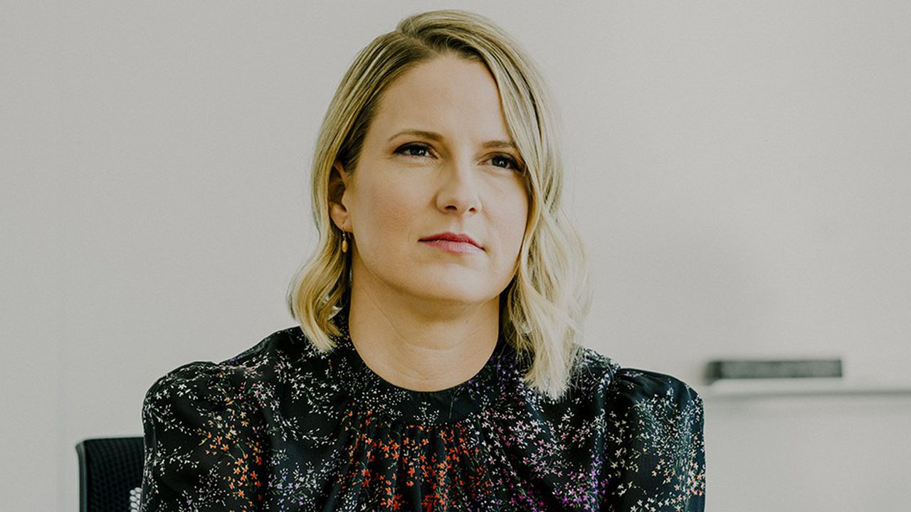 Lauren Kern, la rédactrice en chef de l'application Apple News dans le monde anglo-saxon.