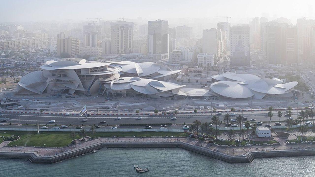 Le Musée national du Qatar de Jean Nouvel ouvrira en mars à Doha.