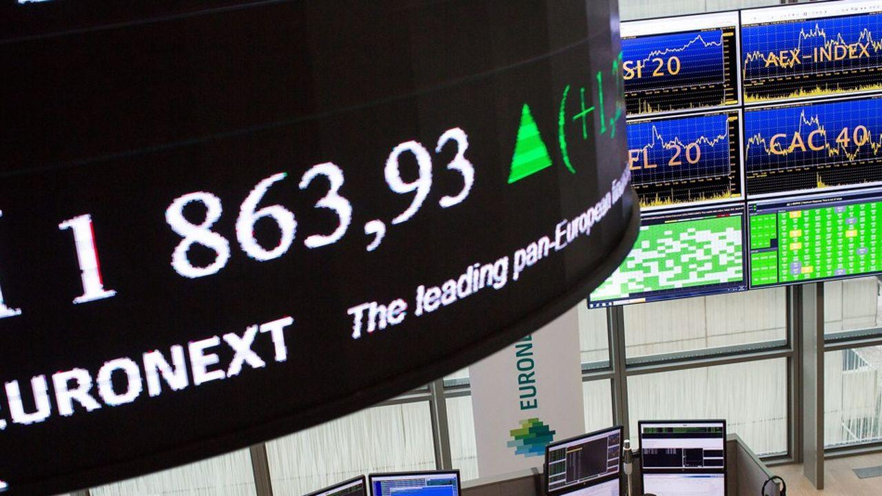 La Bourse de Paris (Euronext) n'a compté que huit introductions au premier semestre.