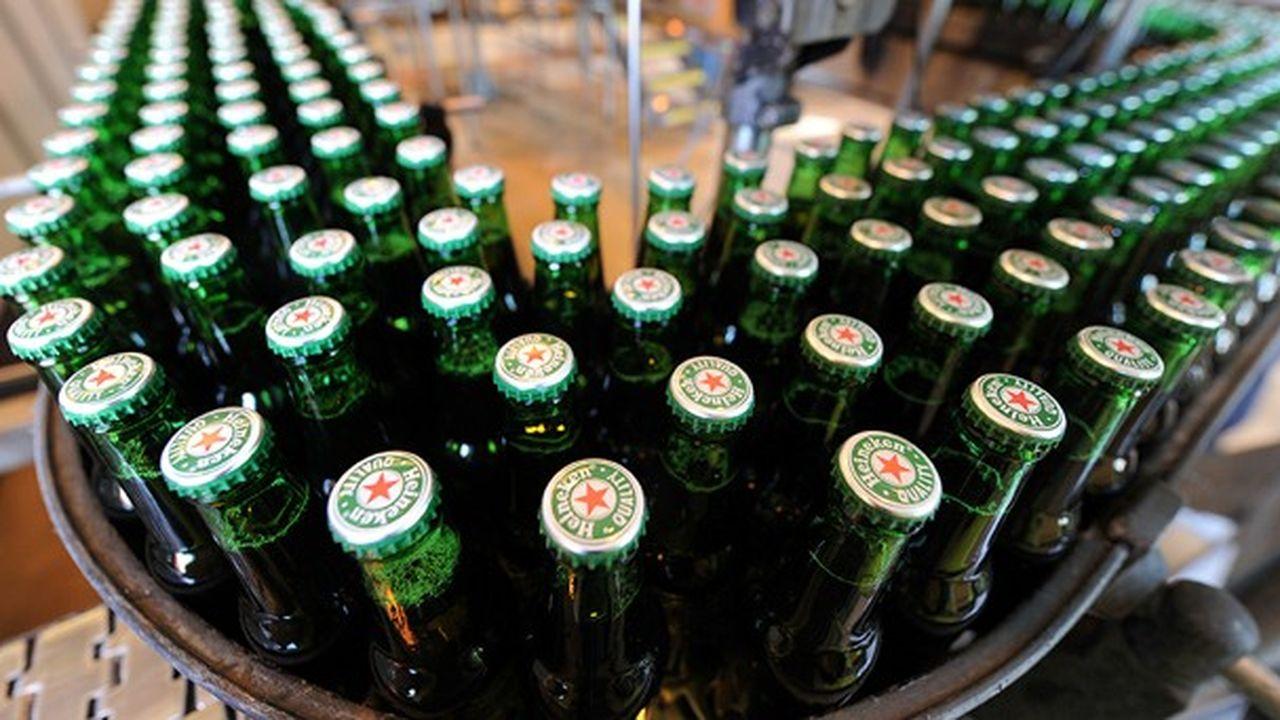 L Usine Alsacienne De Heineken Dotee D Une Nouvelle Ligne D Embouteillage Les Echos