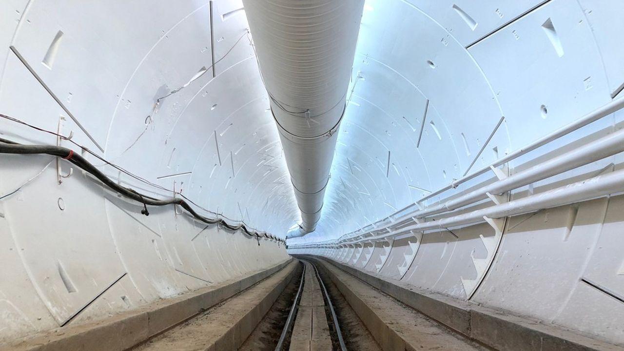 Le tunnel d'essais, long d'une trentaine de km, devait passer sous la ville d'Hawthorne et avait été exempté d'étude d'impact environnemental