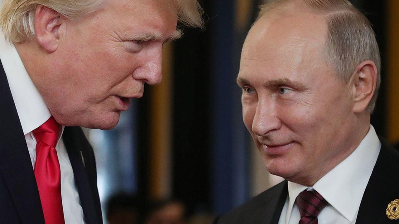 Déjà envisagée à Paris puis repoussée, la rencontre entre le président américain Donald Trump et le président russe Vladimir Poutine au G20a été finalement été annulée par les Américains au dernier moment.