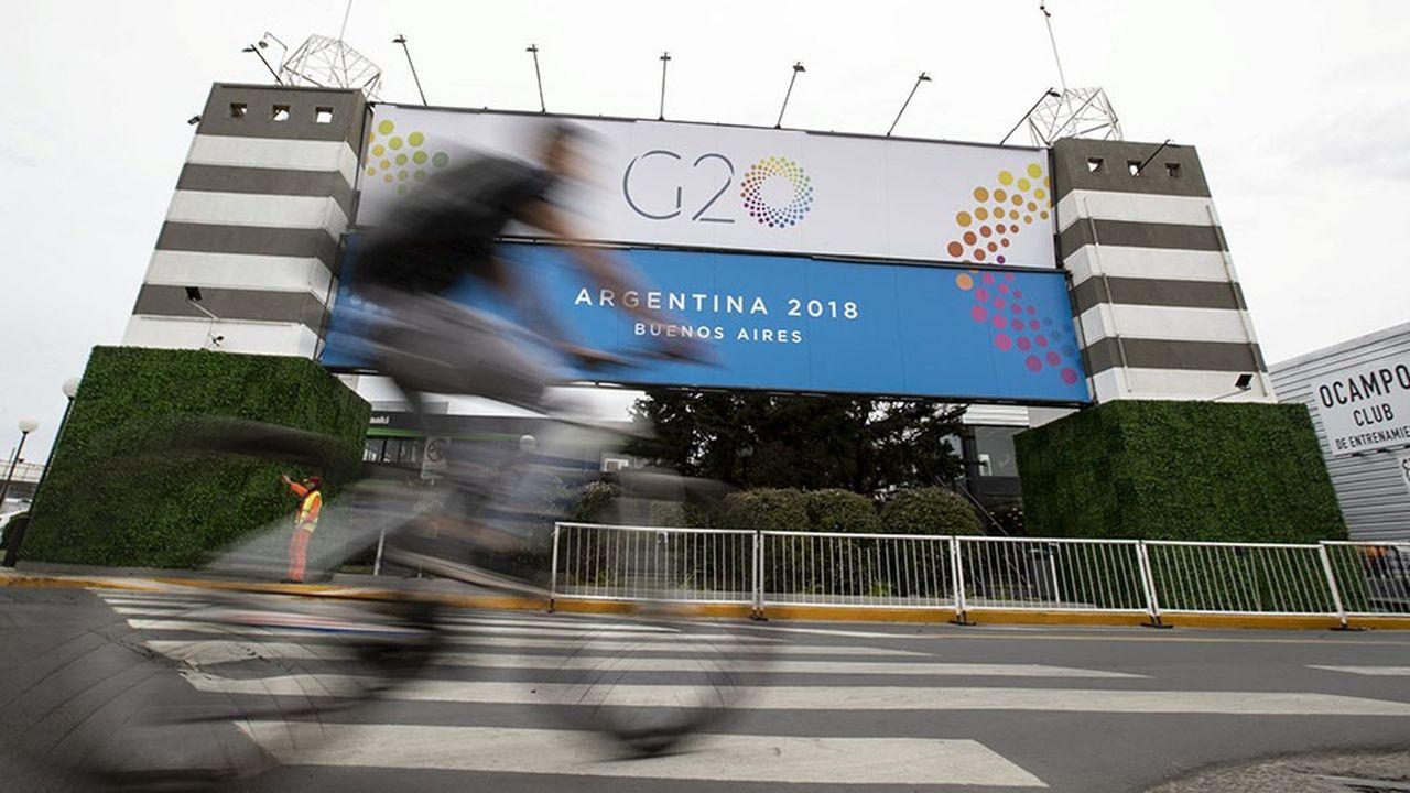 La tâche de la présidence argentine s'annonce des plus ardues pour mettre au point un communiqué finalpour le sommet du G20 de Buenos Aires.