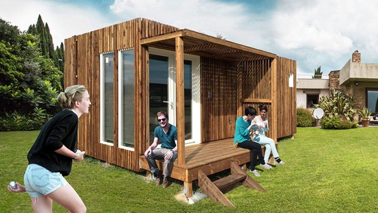 Abri De Jardin Habitable un studio prêt à poser dans son jardin : le kub teste le