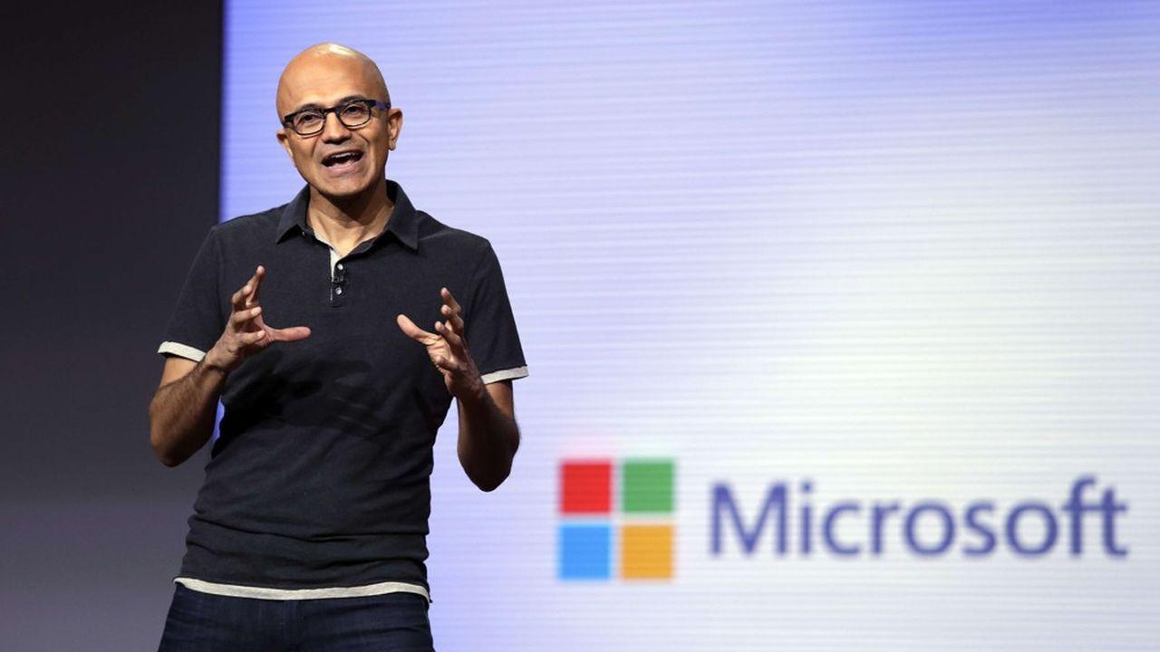 Satya Nadella a su transformer Microsoft en amorçant un virage stratégique vers le cloud.