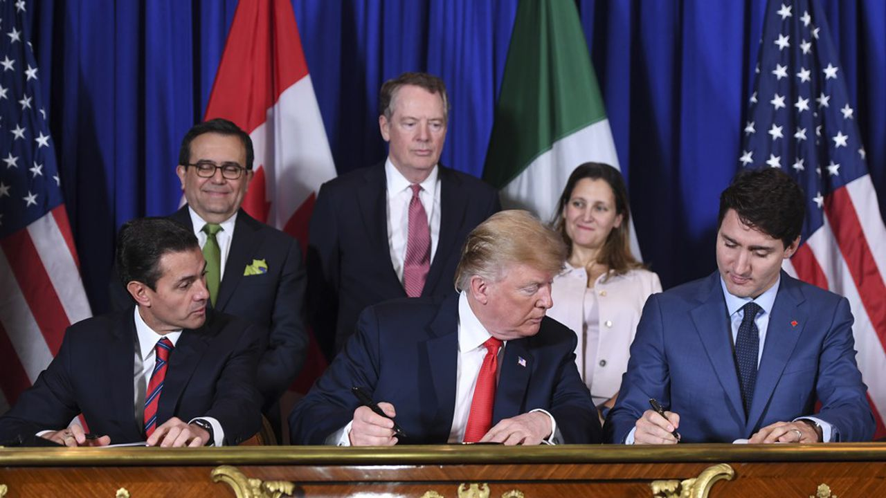 Vendredi, Mexique, Etats-Unis et Canada ont paraphé une nouvelle version de l'Alena, baptisée «USMCA»