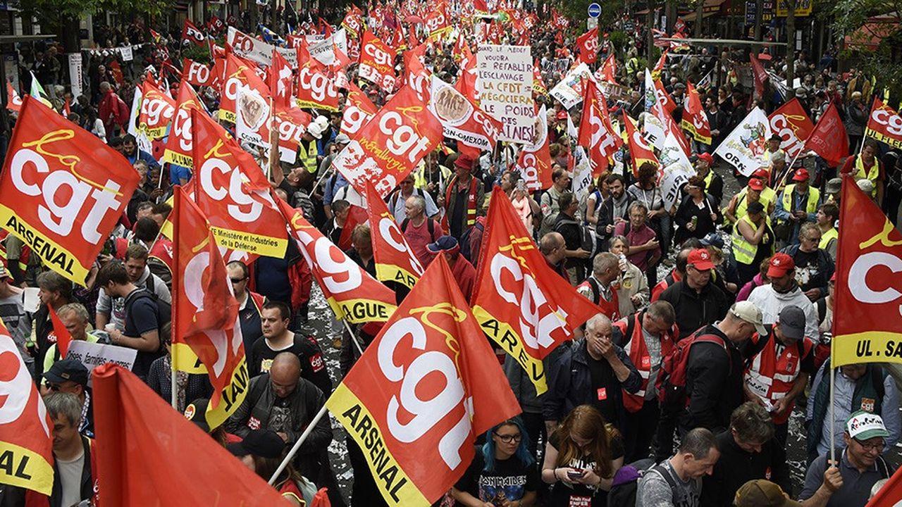 La CGT a appelé ce lundi à une «grande journée d'action» le vendredi 14décembre (ci-dessus lors d'une manifestation en juin2016).