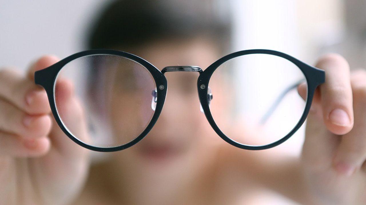La proportion d'enfants de 4 à 10 ans présentant des problèmes de vue a augmenté de 2 points en un an et de 5 points en deux ans.