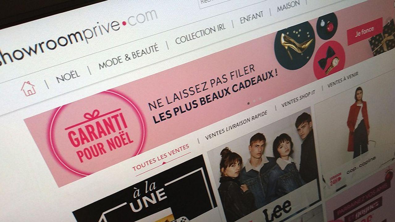 Showroomprive.com lance une augmentation de capital d'environ 40millions d'euros.