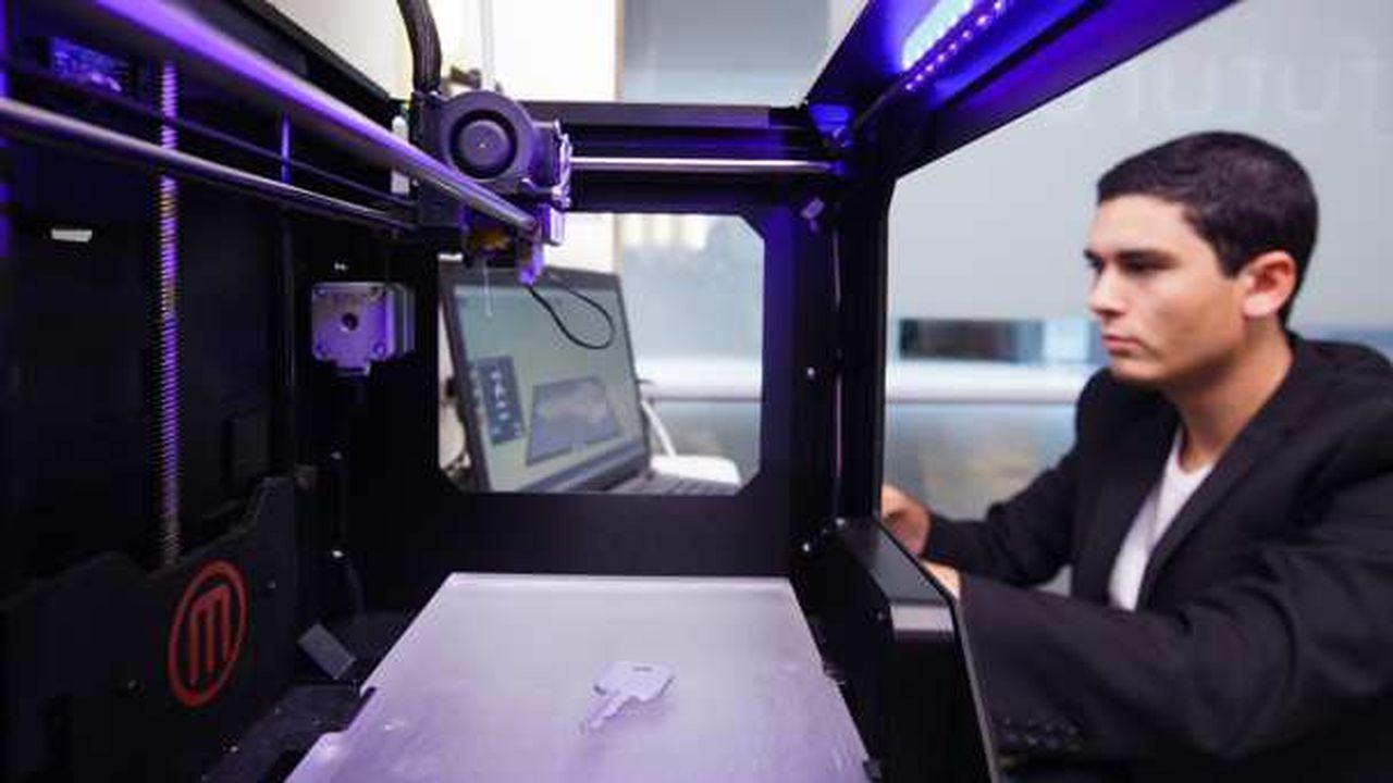 L'impression 3D monte en puissance chez les grands industriels