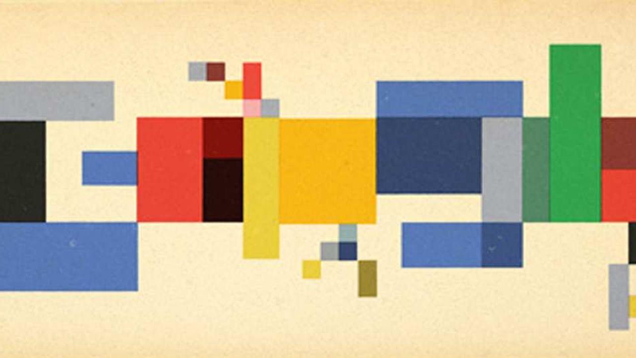L'artiste suisse Sophie Taeuber-Arp mise à l'honneur par Google | Les Echos