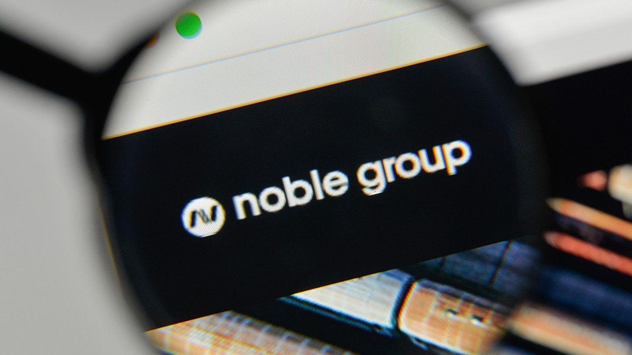 La capitalisation boursière de Noble Group est passée de 6milliards de dollars début 2015 à 78millions aujourd'hui.