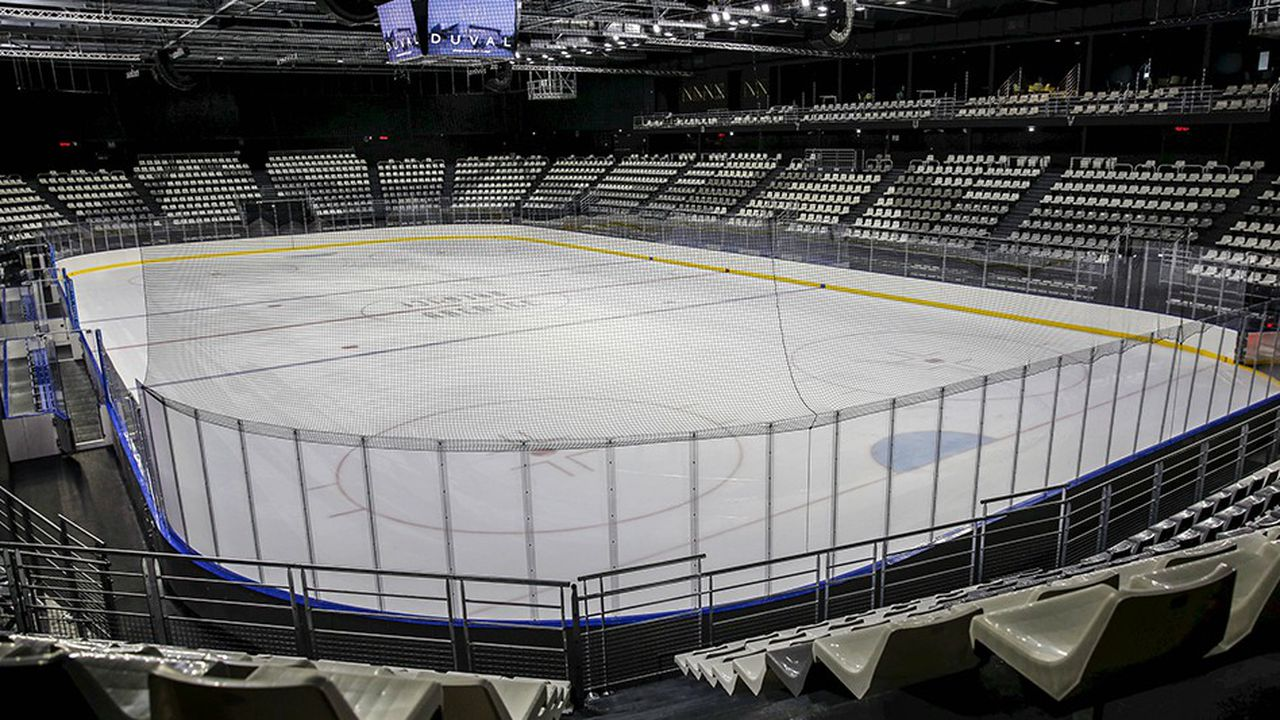 Chantier de l'Aren'ice, centre national de hockey sur glace.