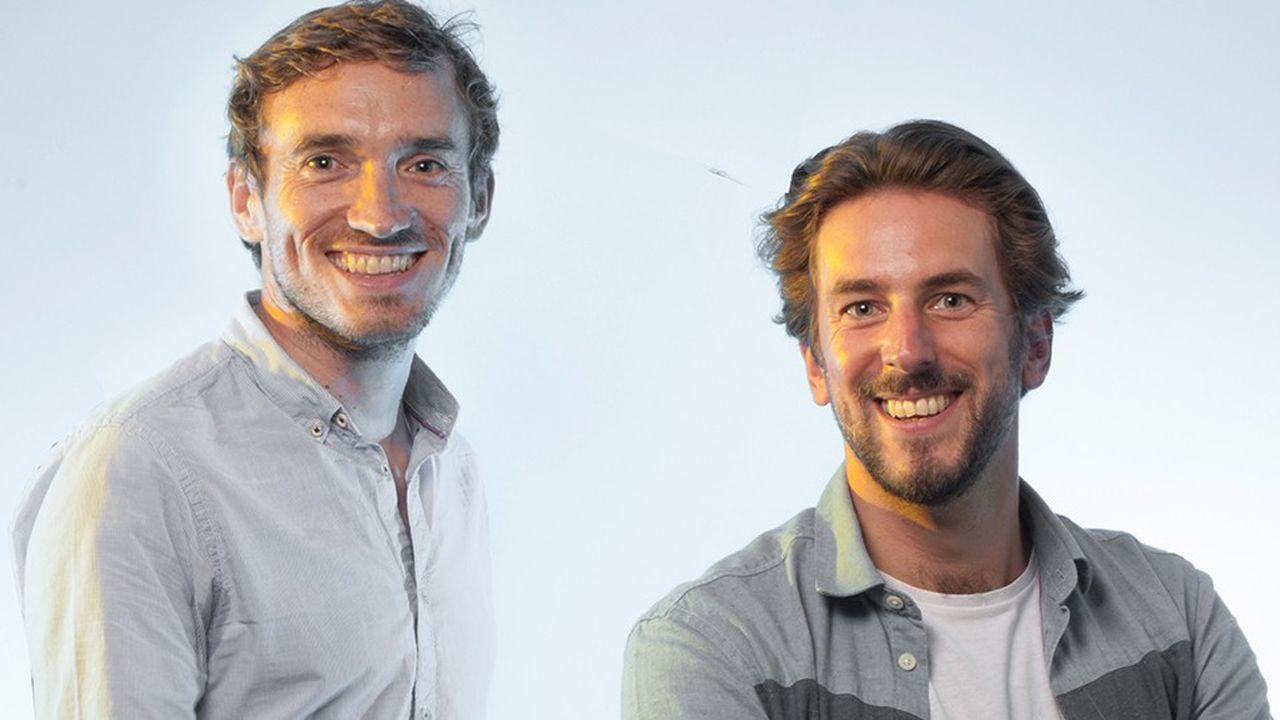 Julien Niquet (à gauche) et Benjamin Pedrini (à droite), les fondateurs d'Epsor.