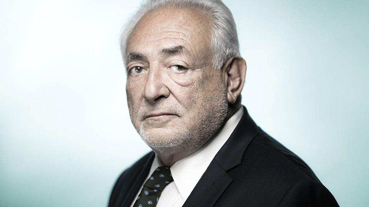 Dominique Strauss-Kahn, ex-ministre de l'Industrie français, a dirigé le FMI entre2007 et2011