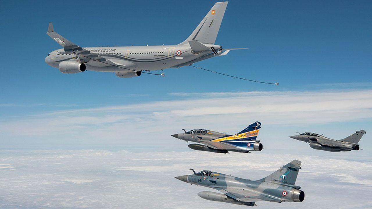 Le tanker multirôle d'Airbus équipe déjà les forces aériennes de 12 pays. La France en a commandé 15 exemplaires.