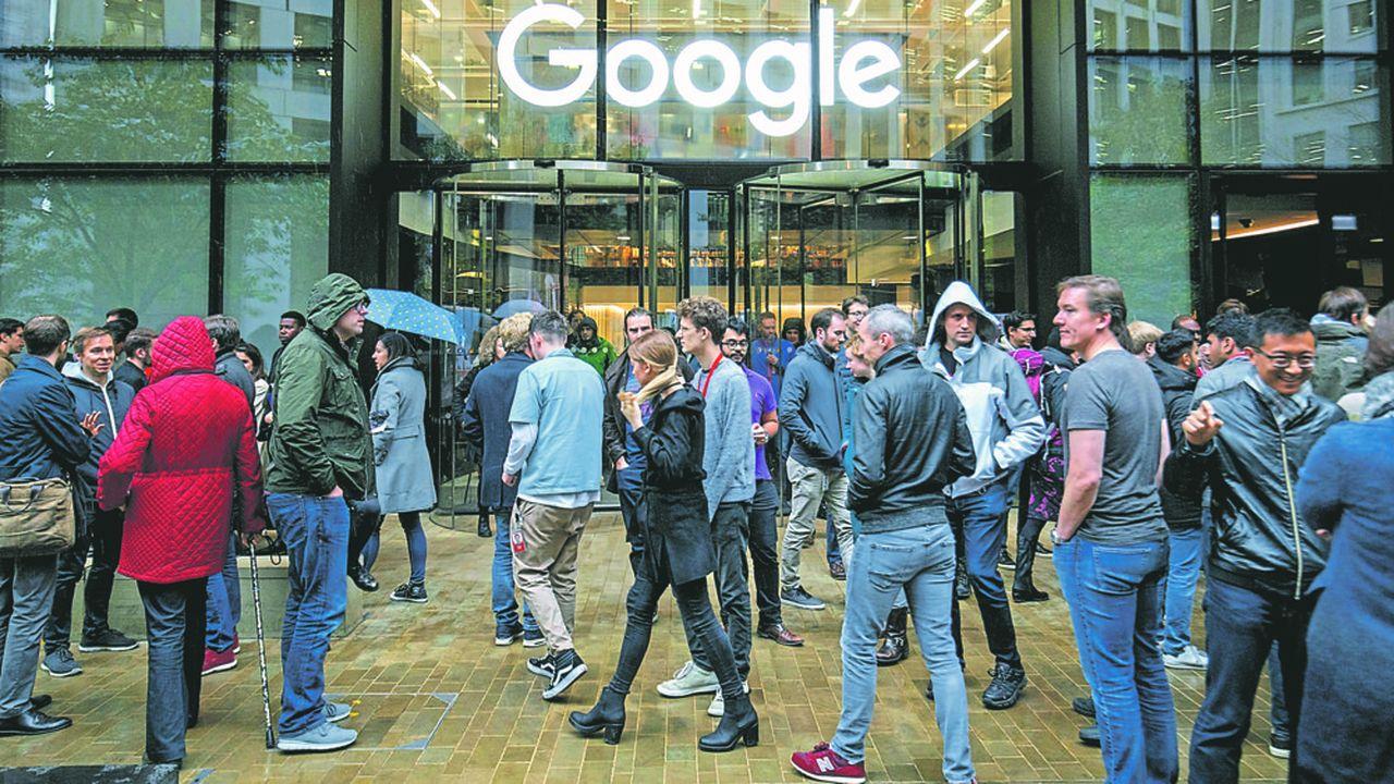 Le siège de Google à Londre.