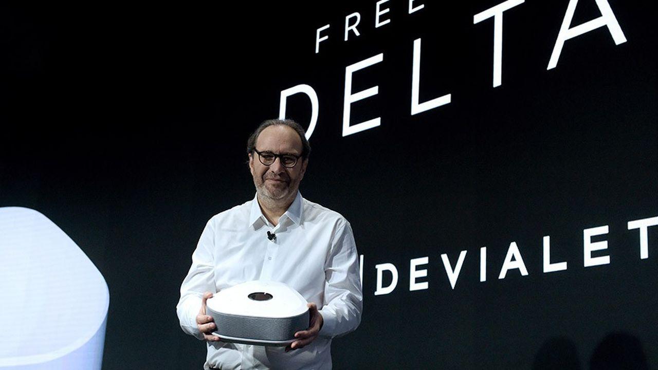 Xavier Niel a présenté la nouvelle box de Free ce mardi matin